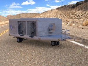 Aircraft Air Conditioning Unit Truck