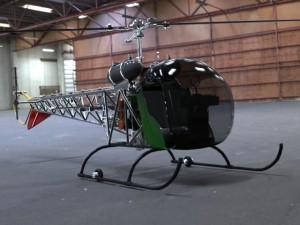 Bell 47G Helicopter