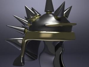 Spiked Midieval Helm