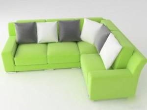 Modern Sofa green