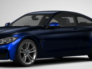 BMW 4 Series Coupe M Sport paket