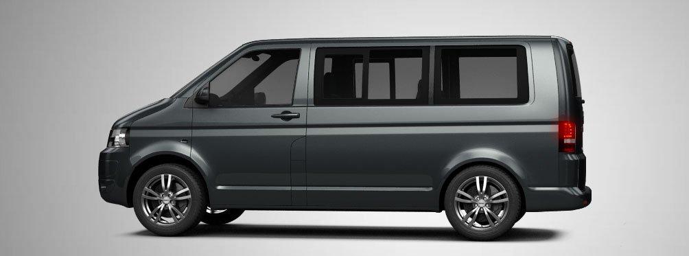 Volkswagen Transporter T5 Multivan 2015 3d Model In Van And Minivan