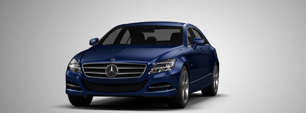 Mercedes Benz CLS 2014 3D Model