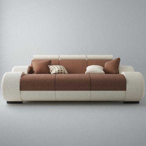 Modern Sofa 3x 3D Model