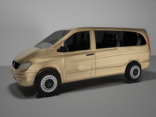 Mersedes Vito 3D Model