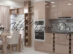 Capuccino Modern Kitchen