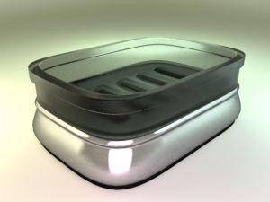 Soap Dish 3D Modell