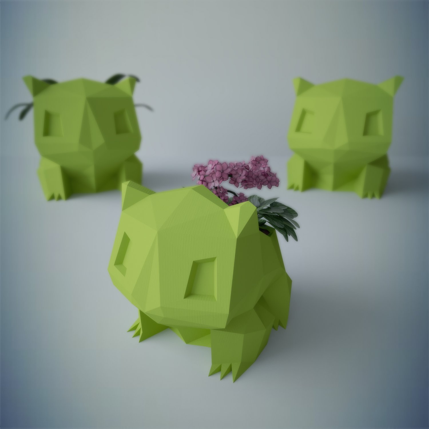Flower Pot Bulbasaur 3d Model In Flowers 3dexport