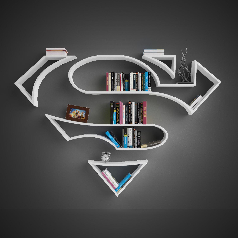 Superman Shelves 3D Model In Shelving 3DExport