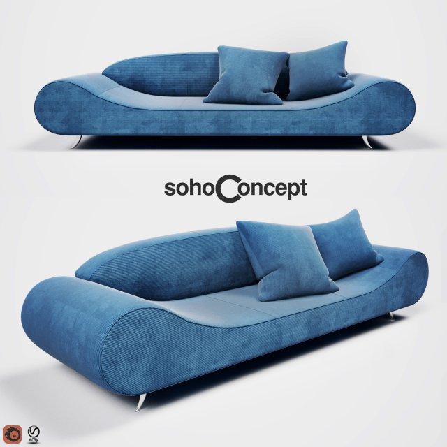 Harmony Sofa 3D Model