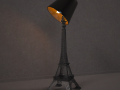 Lampe Tour Eiffel je taime