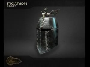 Helmet headdress Knights helmet