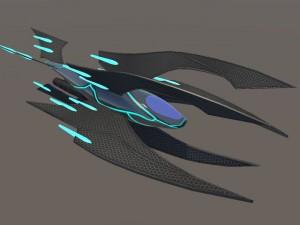 Space Ship Poseidon
