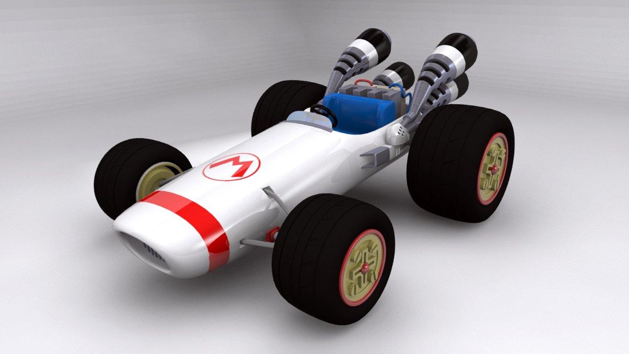 kart 3d Kart of mario 3D Model in Toys 3DExport