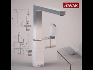 RAVAK 3D Modell