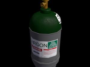 Low-poly gas Argon ballon