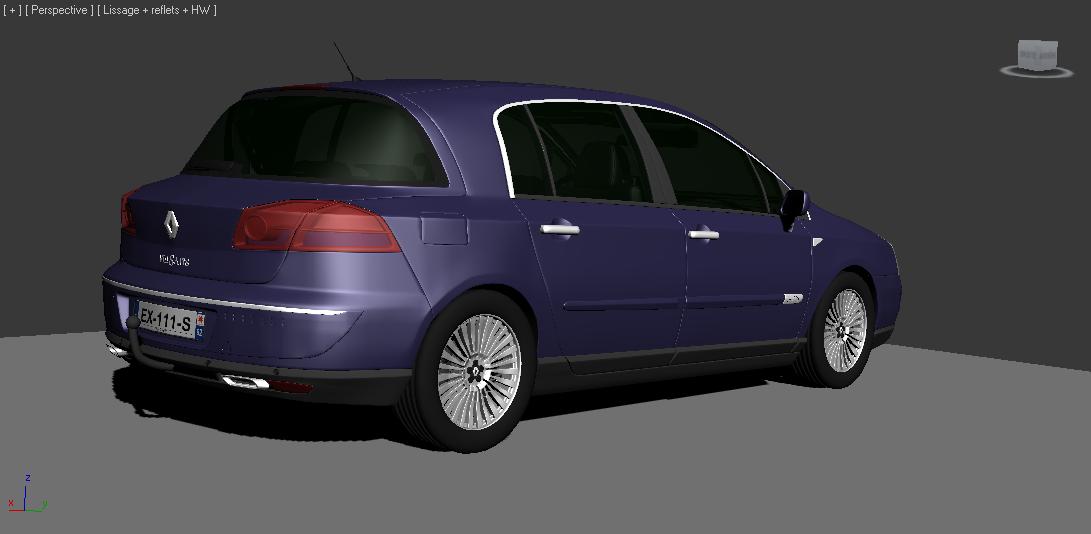 Renault Velsatis 3d Model In Wagon 3dexport