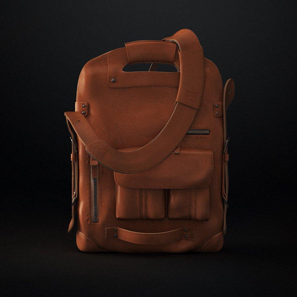 580d5336867 Hipster Bag 3D Model in Clothing 3DExport