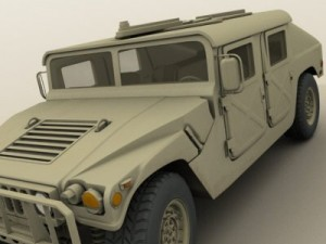 HMMWV Military Humvee