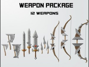 Fantasy Weapons Package