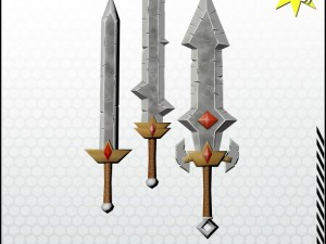 Fantasy Weapon Sword Pack