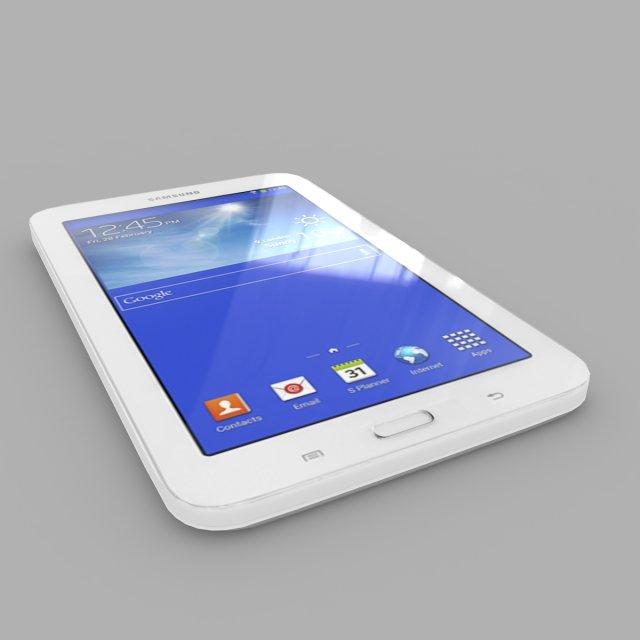 Samsung Galaxy Tab 3 Lite 70 3G 3D Model