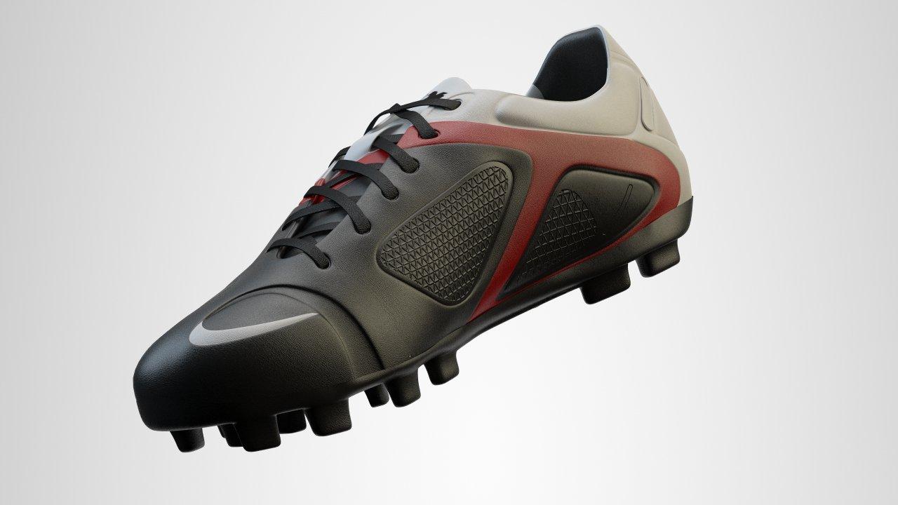 Soccer Shoes 3D Model in Sports