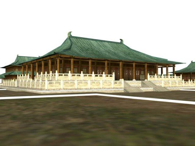 Ancient Architecture 008 3D Model