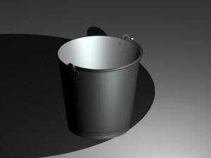 Bucket 01 Aluminium