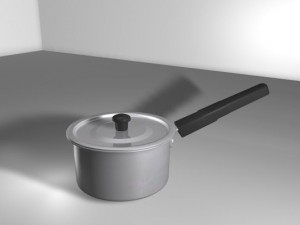 Bhagona Saucepan 02 with lid