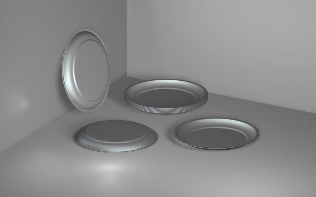 Steel Plate 01 3D Model