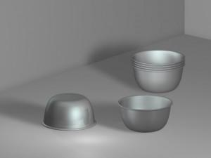 Steel bowl 01