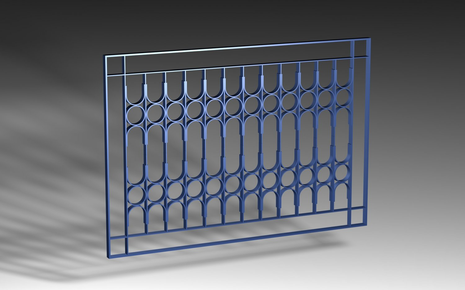 Window Grill Iron Design 02 Pack 3D Model in Decoration ...