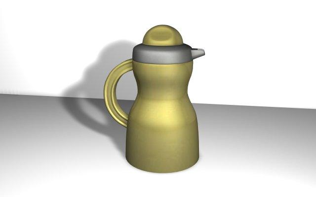 Plastic Jug 01 3D Model