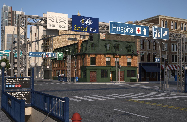 City KC1 3D Model in Cityscapes 3DExport