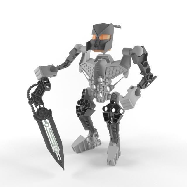 atakus lego bionicle 3d model in toys 3dexport