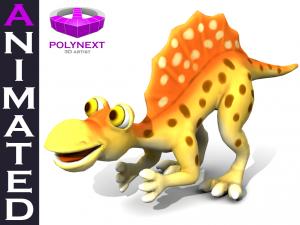 Cartoon Spinosaurus