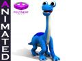 Cartoon Diplodocus