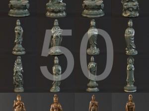50  Kwanyin collection