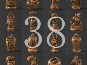 38 Maitreya Buddha 3D Model