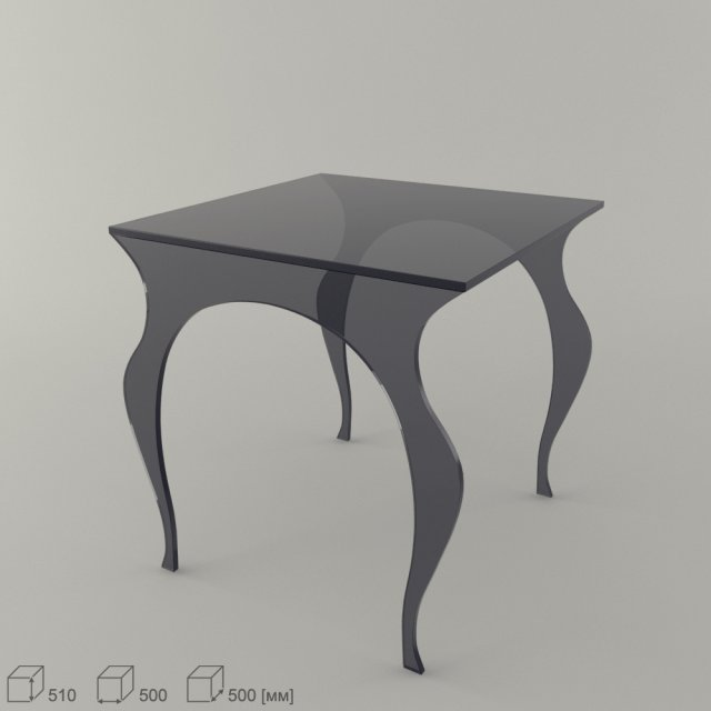 Download free Ego Audrey Table 3D Model