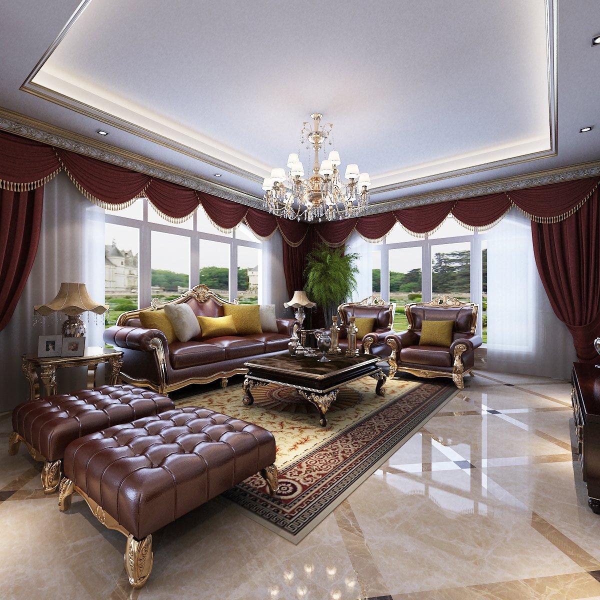 Luxury Living Room 3d Model In Living Room 3dexport
