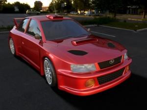 Car subaru car car for 3d game
