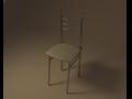Chair kitchen livingroom 3D Model