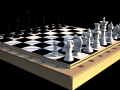 Typical chess set