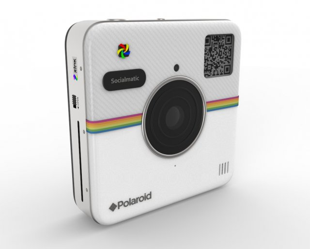 Polaroid Socialmatic 3D Model