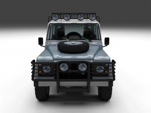 Land Rover Defender 110 Utility Station Wagon w in
