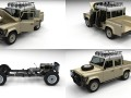 Full Land Rover Defender 110 Double Cab Pick Up