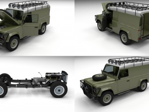 Full Land Rover Defender 110 Hard Top
