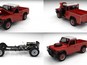 Full Land Rover Defender 110 Pick Up